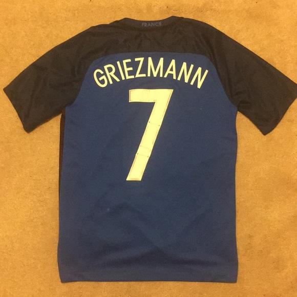 99961f21ee55 Euro 2016 France Antoine Griezmann  7 Jersey. M 5bc51662819e90a70203efe8